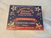 1993 Riders Of The Silver Screen Collectors Cards Series 1 Factory Set 300 Card