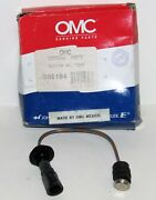 New Omc Outboard Marine Corp Boat Temperature Switch Assembly Part No. 585184