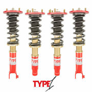 For 08-12 Honda Accord Ex And 09-13 Acura Tsx Function And Form Type 1 Full Coilover