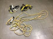 Guardian Fall Protection Set Construction Safety Harness Vertical Lifeline 50andrsquo