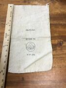 Antique Vintage Wells Fargo Bank Bag Covered Wagon Nw 192 Money