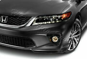 For 13-15 Honda Accord Coupe/2dr Hfp-style Carbon Style Front Bumper Spoiler Lip