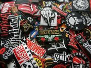 Logo Band Punk Rock Heavy Metal Patch Iron Embroidered Sew On Jeans Hat Bag