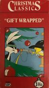 Christmas Classics Gift Wrappedvhs 1990tested-super Rare Vintage-ships N 24 Hr