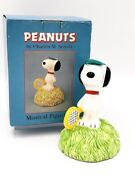 Peanuts Snoopy Music Box In The Good Old Summer Time Willitts Vintage