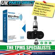 Tpms Tyre Pressure Sensor For Bugatti Veyron 13-15 - Pre-coded - Ready To Fit