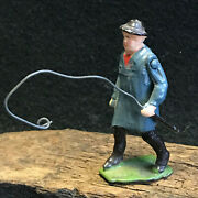 Britains Proprietor Lead Man W/whip Horse Trainer, Circus Conductor, Fisherman