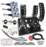 Fits Peugeot 205 Floor Mounted Hydraulic Pedal Box Kit Andndash Sportline 3-pedal Ap