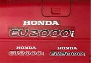 Honda Eu2000i Generator Replacement Decals Stickers Graphics + Tracked Shipping