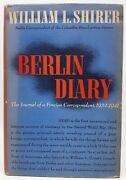 1941 Berlin Diary By William Shirer, Hb W/dj, Knopf Published June 20, 1941