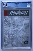 Aquaman 7 Cgc 9.8 Sketch Variant 1st Appearance/the Others New 52 Geoff Johns