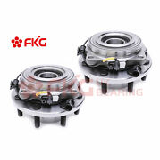 2 Front Wheel Bearing And Hub For 2005 - 2008 2009 2010 Ford F250 Drw 4wd 515082