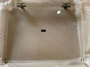 New Technics Sl-1200 Oem Clear Dust Cover Version W/ Hinges