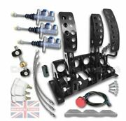 Fits Vw Lupo Floor Mounted Hydraulic Pedal Box Kit Andndash Sportline 3-pedal Ap