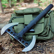 M48 Survival Camping Tomahawk Throwing Axe Battle Hatchet Hunting Knife Tactical