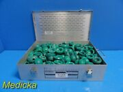 188x Stryker Howmedica Osteonics Ortho Trials Color Code Green W/ Case 18796