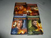 Macgyver Boxed Dvd Lot Tv Series Complete Season 1 3 4 5 Paramount Television