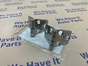 2 Door Hinge Set For Boat Rv Polished Stainless Steel 3 X 1.5 Mirror Finish