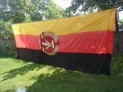 East German Gdr/ddr State Parade Banner-excellent Condition 9ft Tall-3.5ft Wide