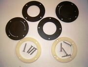 Grady White Engine Well Scuppers And Retaining Ring Set - Oem