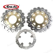 Front Rear Brake Disc Rotors Fit For Bmw F800gs 2009 - 2015 2010 2011 2012 2013