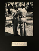Lt.colonel William Dixie Sloan Wwii Air Force Cross Double Ace 12 Kills Signed