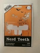 Vintage Nerd Teeth Unique Old Hard To Find Halloween Item Fright Factory Nice