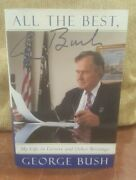 Signed 1st Us Ed All The Best President George Hw Bush My Life In Letters