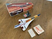 Alps Concorde Battery Operated Supersonic Plane Made In Japan 1960s