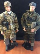 Steiner Project Adler 1943 1/6 German And British Paratrooper Lot Kitbash 12 Inch
