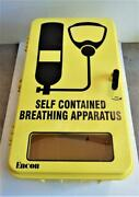 Encon Wc Series Yellow Scba Protective Safety Equipment Storage Wall Cabinet