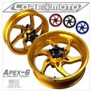 Apex-6 Yamaha R1 2004-2014 Forged Core Moto Wheels Set Of 2