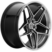 20 Hre Ff11 Silver 20x8.5 Forged Concave Wheels Rims Fits Tesla Model S