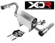 Flowmaster Xdr 7203 Performance Exhaust Fits 2017-19 Can-am Maverick X3 Turbo