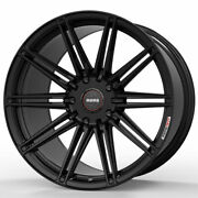 20 Momo Rf-10s Gloss Black 20x9 Forged Concave Wheels Rims Fits Toyota Camry