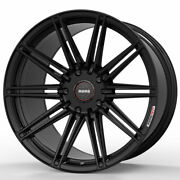 19 Momo Rf-10s Gloss Black 19x8.5 Forged Concave Wheels Rims Fits Ford Focus