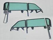 1959 1960 Chev Convert Side Glass Assembly Buick Olds Pont Gt   Core Exchange