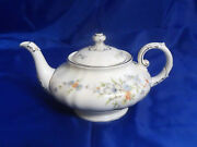 Franconia Krautheim Sinfonette Teapot With Lid Multi-color Flowers 1967-1975