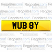 Wub 8y Cherished Car Reg Private Personalised Number Plate Wubby Short