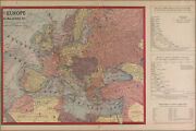 Poster Many Sizes Wwi Map Of Europe And Force Size 1917