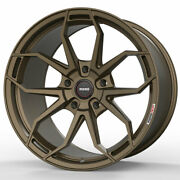 19 Momo Rf-5c Bronze 19x8.5 19x9.5 Concave Wheels Rims Fits Ford Mustang Gt