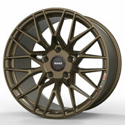 19 Momo Rf-20 Bronze 19x8.5 19x10 Concave Wheels Rims Fits Ford Mustang Gt