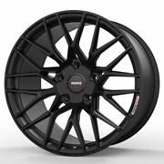 19 Momo Rf-20 Black 19x9 Concave Forged Wheels Rims Fits Toyota Camry