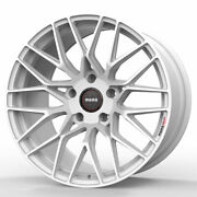 19 Momo Rf-20 White 19x10 Concave Forged Wheels Rims Fits Nissan 350z