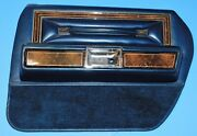 1978 1979 Lincoln Continental Town Car Rear Door Panel Assembly Passenger Side