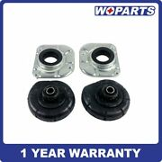 4pc Strut Mount Spring Seat Bushing Front Fit For Volvo S60 S80 V70 Xc90 3546189