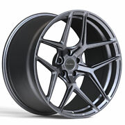 20 Brixton Forged Rf7 Grey 20x8.5 20x10 Concave Wheels Rims Fits Chevrolet Ss