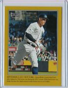 2019 Topps Archives Snapshots Captured In The Moment Aaron Judge Gold 4/10