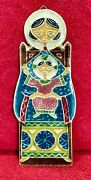 Creazioni Luciano Italy Hanging Wall Tile Woman Child Madonna Baby Mary Jesus