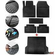 For Jeep Waterproof Rubber 3d Molded Floor Mats And Cargo Liner Protection Set